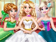 Goldie Princess Wedding Game