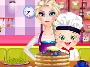 Elsa And Rosy Pancakes Day Game