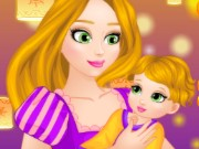 Rapunzel Real Care Newborn baby Game