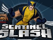Wolverine Sentinel Slash Game