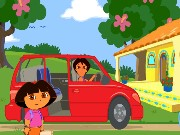 Dora Ride Along City Adventure Game