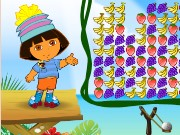 Dora Fruit Slingshot Game
