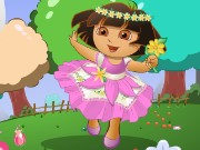 Dora Flower World Game