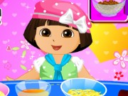 Dora Valentine Day Cake Game