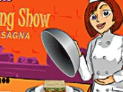 Cooking Show Lasagna Game