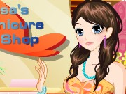 Tessas Manicure Shop Game