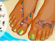 Pretty Pedicure Nail Salon Game