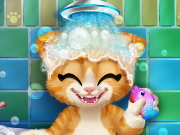 Rusty Kitten Bath Game