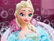Elsa Beauty Bath Game