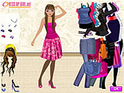 Dress Up A Slender Girl Game