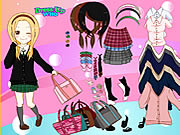 School Is Fun Dress Up Game
