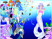 Sea Girl Dressup Game