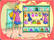 Winx Club Girl Dress Up Game
