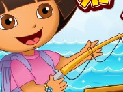 Dora Go Fishing Game
