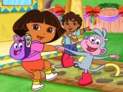 Dora Party Decor Game