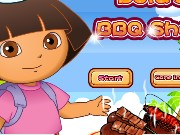 Dora Barbecue Shop Game