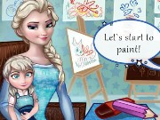 Baby Lessons With Elsa Game