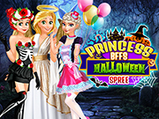 Princess BFFs Halloween Spree Game