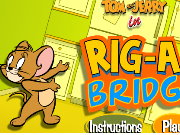 Tom And Jerry Rig A Bridge Game