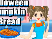 Halloween Pumpkin Bread Cooking Game