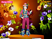 Emily Flower Girl Dressup Game