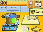 Cooking Show Breadrolls Game