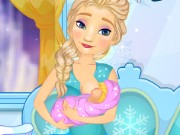 Elsa Breast Feed Game