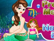 Pregnant Mermaid And Newborn Baby Game