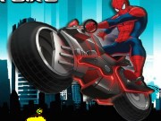 Spiderman Super Bike Game