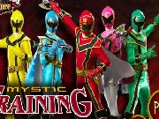 Power Ranger Mystic Training Game