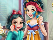 Snow White Mommy Real Makeover Game