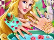 Sleeping Princess Nails Spa Game