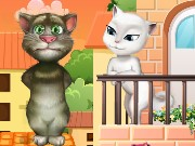 Talking Tom Cat Kissing Game