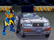 Wolverine Car Crash X Men Game