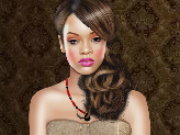 Rihanna Fashion Dressup Game