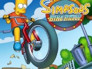 Simpsons Bike Rally Game