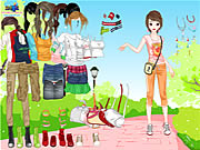 Outdoor Dressup Game
