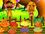 Monkey Fruit Shop Game