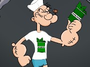 Popeye Dressup Game