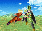Goku VS Cell Fight Game