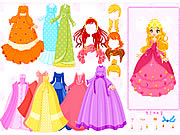 Mylene Gown Dressup Game