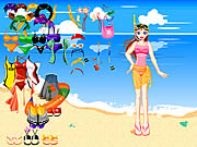 Beach Wear Dressup Game