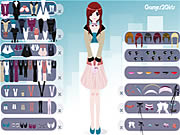 Shy Girl Dressup Game