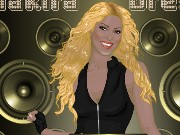 Shakira Dress Up Game