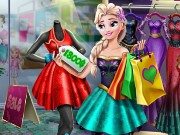 Elsa Realife Shopping Game