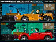 Picknick-Puzzle spiel