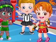 baby hazel boxer mode spiel