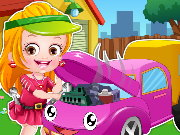 Baby Hazel Mechanic Dressup Game