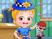 baby hazel polizei mode spiel
