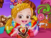 Baby Hazel Chocolate Fairy Dressu Game